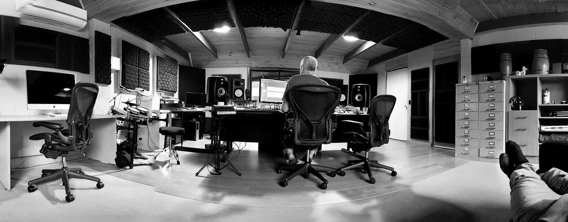 State-of-the-art recording studio facility